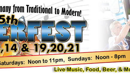 Next Adventure: Celebrating our 1st Anniversary at Oktoberfest of the Palm Beaches!!