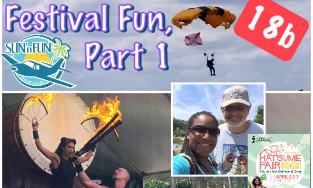 Episode 18b: Festival Fun, Part 1